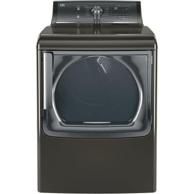 7.8 cu. ft. Electric Dryer with Steam in Metallic Carbon