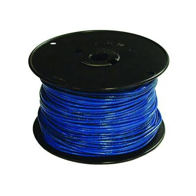500 ft. 16/1 TFFN Fixture Wire - Blue