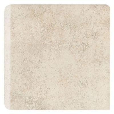 Brixton Bone 6 in. x 6 in. Ceramic Bullnose Wall Tile