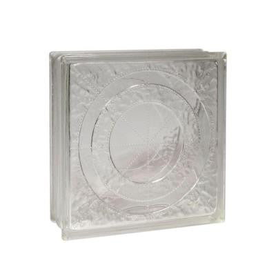 12 in. x 12 in. x 4 in. Orbit Glass Block 3/CA