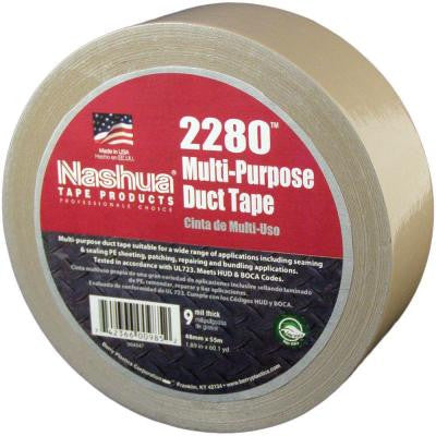 1.89 in. x 60.1 yds. 2280 Multi-Purpose Tan Duct Tape