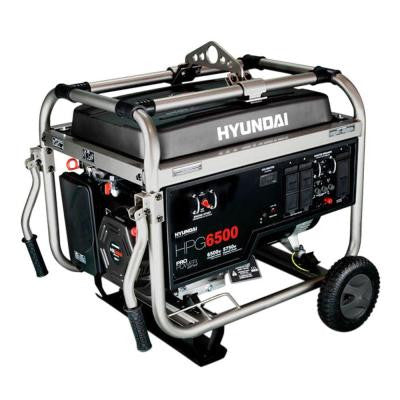 6,500-Watt Gasoline Powered Portable Generator - CARB Approved