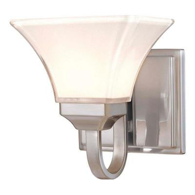 Agilis 1-Light Brushed Nickel Bath Light
