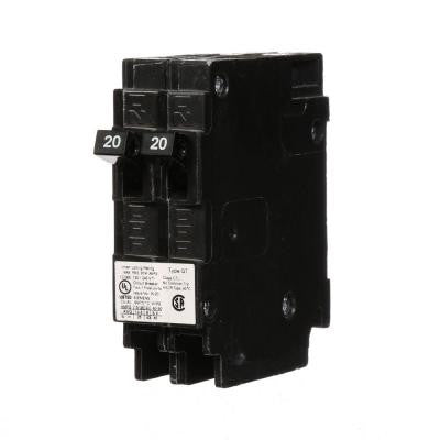 20-Amp Tandem Single-Pole Type QT Circuit Breaker