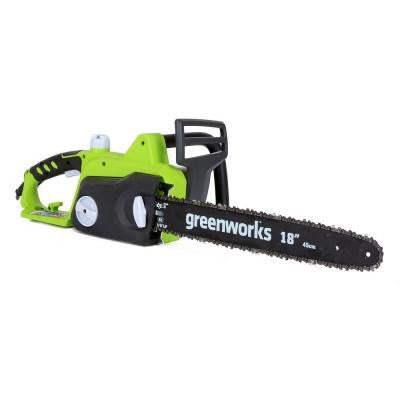 18 in. 14.5-Amp Electric Chainsaw