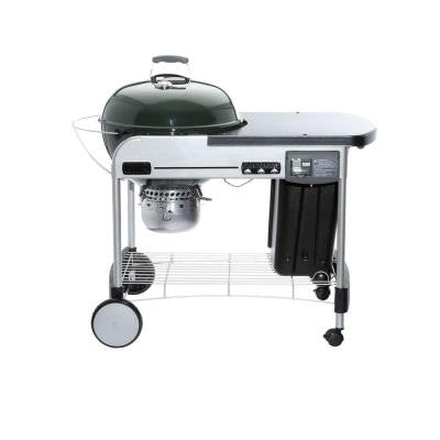 Performer Deluxe 22 in. Charcoal Grill in Green