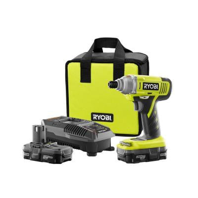 ONE+ 18-Volt Lithium-Ion Impact Driver Kit