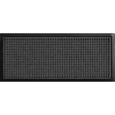 Aqua Shield Boot Tray Squares Charcoal 15 in. x 36 in. Pet Mat