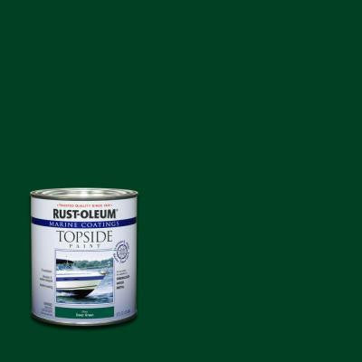 1-qt. Deep Green Gloss Topside Paint (Case of 4)
