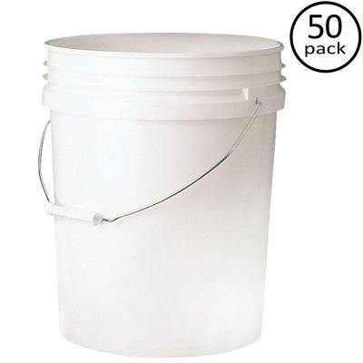 Premium 5-gal. Food Storage Container (50-Pack)