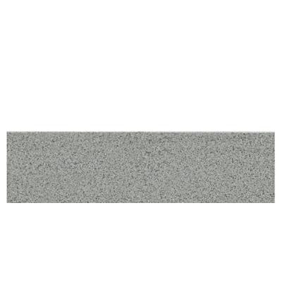 Colour Scheme Desert Gray 3 in. x 12 in. Porcelain Bullnose Floor and Wall Tile