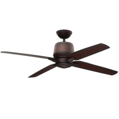 Aris 54 in. Brushed Cocoa Ceiling Fan