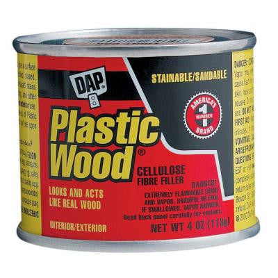 Plastic Wood 4 oz. Light Oak Solvent Wood Filler (12-Pack)