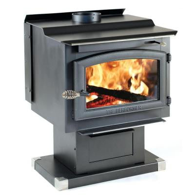 Performer 2,200 sq. ft. Wood-Burning Stove with Blower