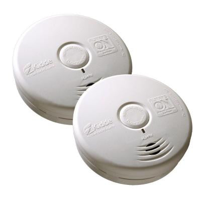 Twin Pack Worry Free 10 Year Living Area Smoke Alarm