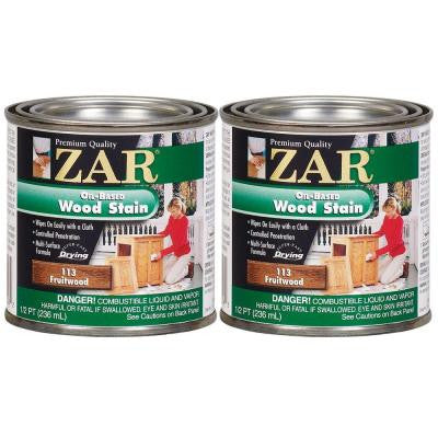 113 0.5-pt. Fruitwood Wood Stain (2-Pack)