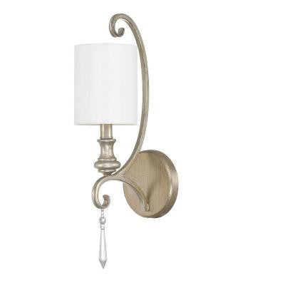 Austin Allen & Co. 1-Light Iced Gold Sconce