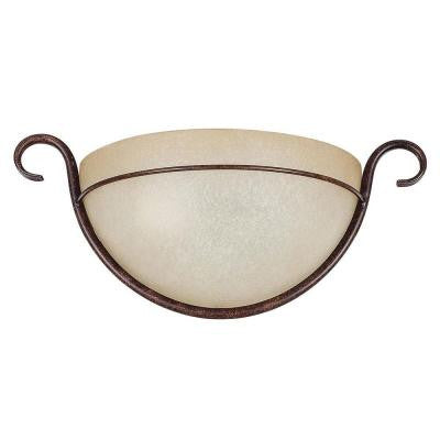 Fiscus 1-Light Oil-Rubbed Bronze Sconce