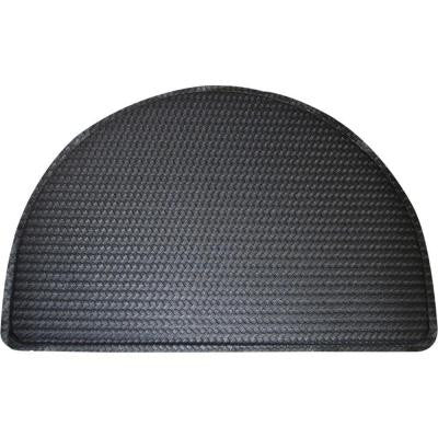 Soothing Step Black 24 in. x 36 in. Anti Fatigue Kitchen Cushion Mat
