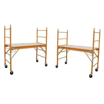 30 in. x 29 in. x 74.5 in. Multi-Purpose Commercial Grade Scaffolding with 1000 lb. Load Capacity (2-Pack)