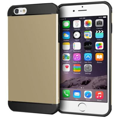 Exec Tough Hybrid Armor Case for Apple iPhone 6/6S - Gold
