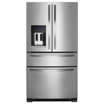 24.5 cu. ft. French Door Refrigerator in Monochromatic Stainless Steel