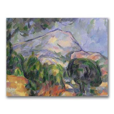24 in. x 32 in. Montagne Sainte-Victoire II Canvas Art