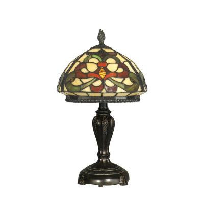 19 in. Baroque Style Fieldstone Table Lamp