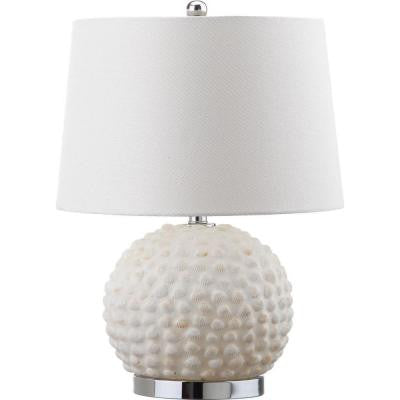 Forbes 21.5 in. Cream Table Lamp