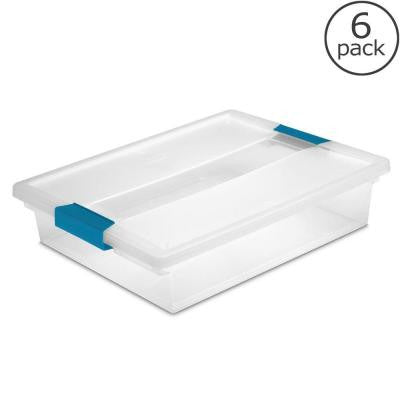 5 1/2 Qt. Large Clip Box (6-Pack)