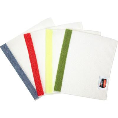Sanitizer-Safe Microfiber Cloths (4-Pack)