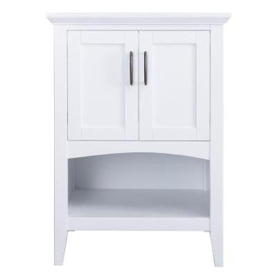Brattleby 24 in. Vanity Cabinet Only in White
