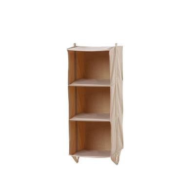 11.8 in. x 35.8 in. 3-Shelf Closet Organizer