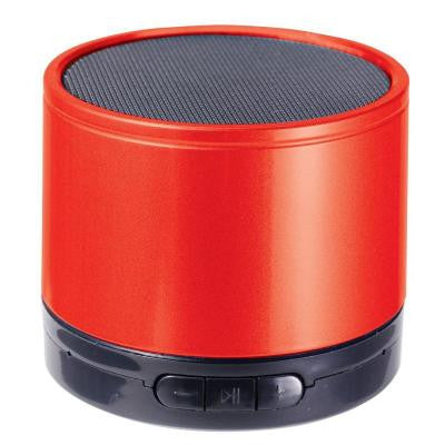 Portable Speaker with Bluetooth Wireless Technology - Red