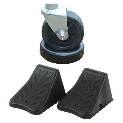 Trailer Wheel Stop Set