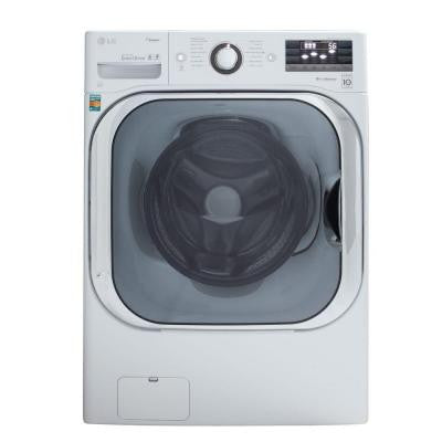 5.2 DOE cu. ft. High-Efficiency Front Load Washer with Steam in White, ENERGY STAR