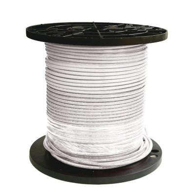 1000 ft. 8 Stranded THHN Cable - White