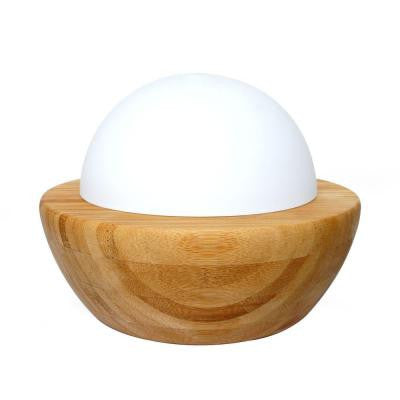 Ultrasonic Aroma Diffuser Humidifier with Wood Base
