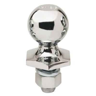 2 in. Dia 1 in. Shank Diameter 6000 lbs. Capacity Stainless Steel InterLock Hitch Ball