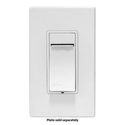 Z-Wave Controls 3-Way/Remote Scene Capable Locator Universal LED Dimmer - White/Ivory/Light Almond