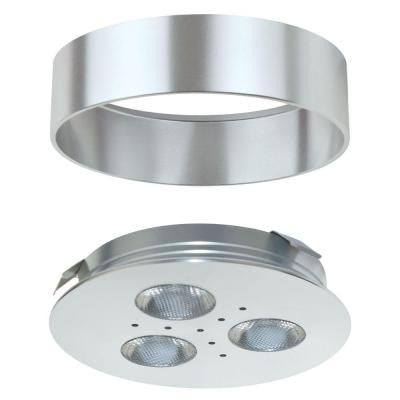 Pro-Grade Aluminum, Bright White Dimmable LED Puck Light/Recessed Downlight