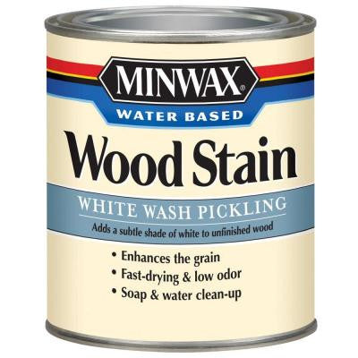 1 qt. White Wash Pickling Water Based Stain