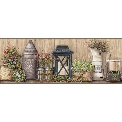 9 in. H Country Keepsakes Garden Border