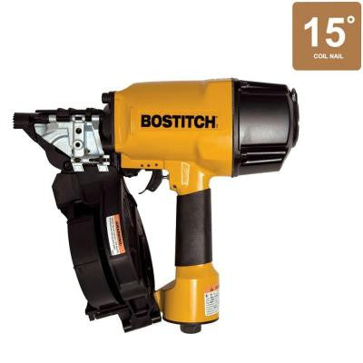 15° 15-Gauge 1-1/2 in. - 3-1/4 in. Coil Framing Nailer