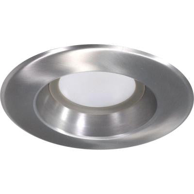 Nicor D-Series 5 in. and 6 in. 5000K Nickel Dimmable LED Recessed Retrofit Kit