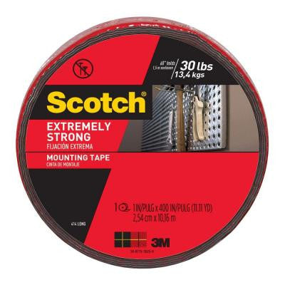 Scotch 1 in. x 11.1 yds. Extreme Mounting Tape