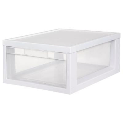 17.125 in. D x 12 in. W x 7 in. H 1-Compartment Plastic Medium Modular Drawer