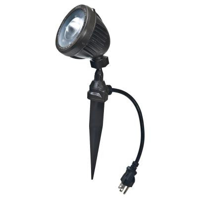 500 Lumen LED Swivel Joint Spike Light