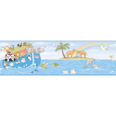 9 in. Noah's Ark Border
