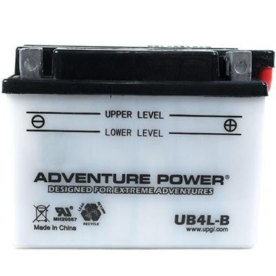 Conventional Wet Pack 12-Volt 4 Ah Capacity D Terminal Battery
